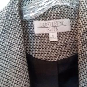 Larry Levine Suits Jackets & Coats - Larry Levine Suits Long Coat